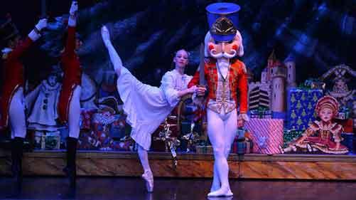 International Ballet Stars Dance in Festival Ballet Theatre's The Nutcracker