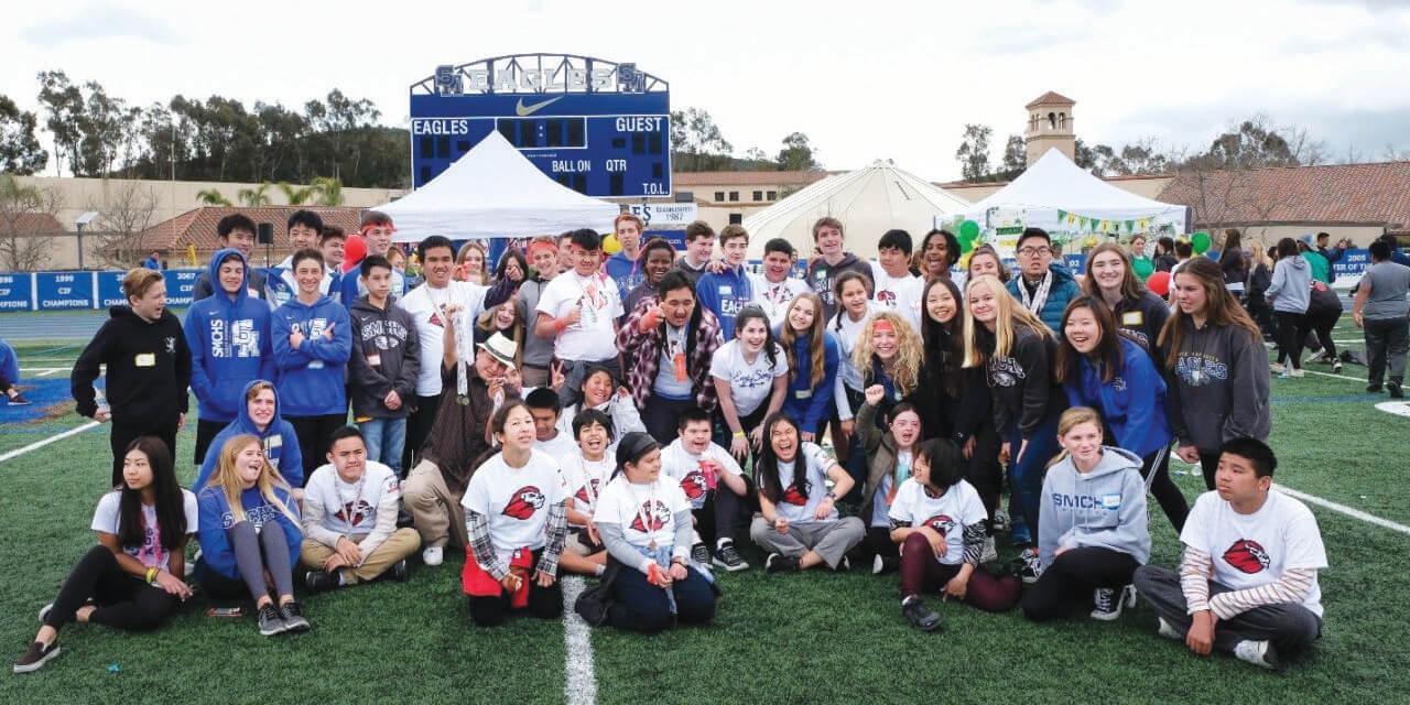 Santa Margarita Catholic High School Hosts Special Olympics Track and Field  and Aquatics Meets